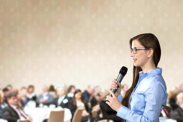 vortrag, englisch, präsentation, international