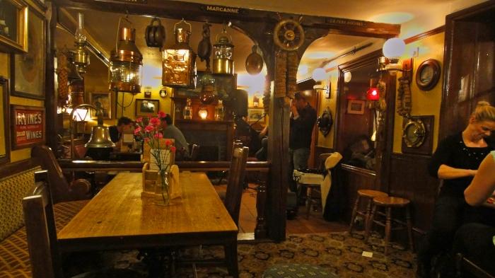 Ausgehen, The Spyglass-Inn in Ventnor
