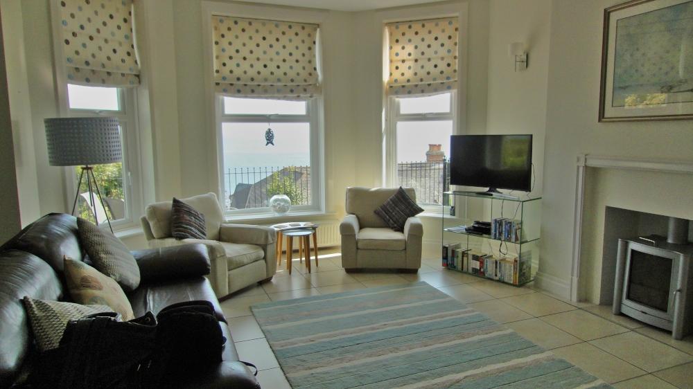 Wohnen im Cottage, Bild zeigt eine unserer Wohnungen direkt an der Kueste, Reisen in England