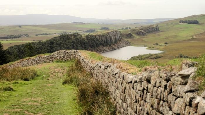 Weg am Hadrians Wall