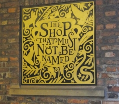 Shop must not be named