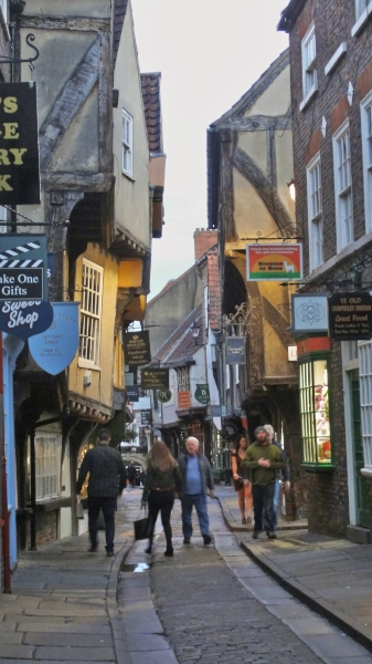 The Shambles, ältester Teil der Stadt