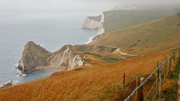 Klippenlandschaft in England, Südwesten