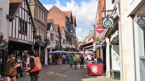Winchester, England Südwesten,